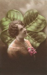 shamrock-lady