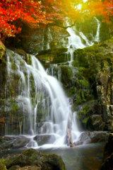 Fantasy Ireland Waterfall